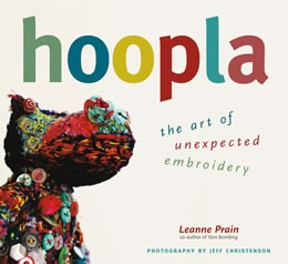 Hoopla the art of unexpected embroidery