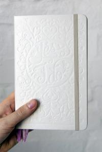 Moleskine Passions wedding journal