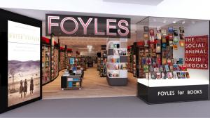 The outside of the new Foyles in Birmingham's Grand Central station.