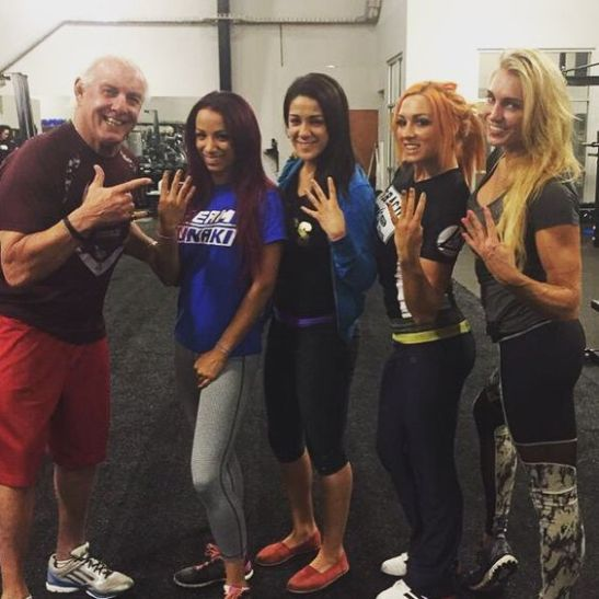 four horsewomen ric flair